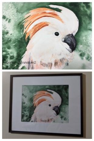 Sweet Rosie painting